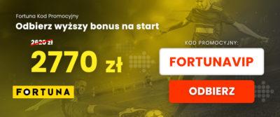 kod promocyjny Fortuna VIP